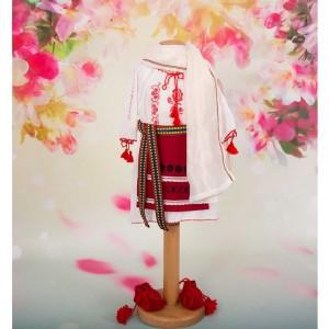 Costumas popular traditional romanesc fetite DOINA, 5 piese