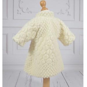 Palton traditional de Botez fetite din lana, CATINCA