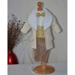 Palton bebelusi pentru botez baieti toamna-iarna, Raphael