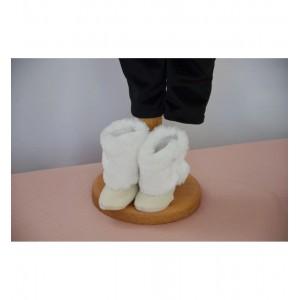 Palton bebelusi baieti de botez ivoire pt. iarna 3 piese, Cedric