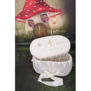 Cutie trusou botez fetita sau baiat Antique - Trusou botez copii