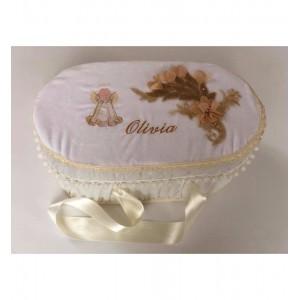 Cufar-cutie pentru trusou botez EMILY
