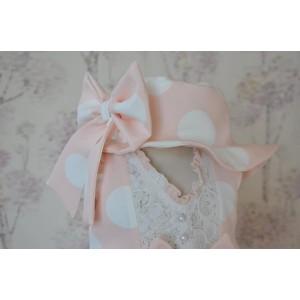Rochita de botez roz de primavara-vara, Summer Joy