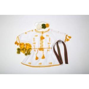 Set traditional popular de botez fetite, Constanta